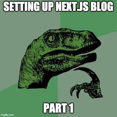 Setting up your Next.js Blog